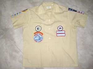 16 Vintage FISHING Game Mexico Texas TGFC Club Patch Patches on Shirt 1960s Lot
