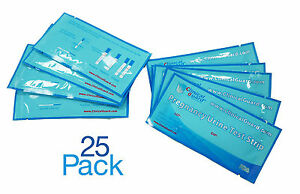 ClinicalGuard Pack of 25 Individually Sealed Early Pregnancy Test Strips $6.99