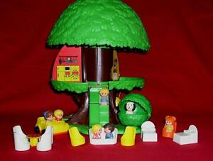 1976 tree house playset added extras ages 2 6 517