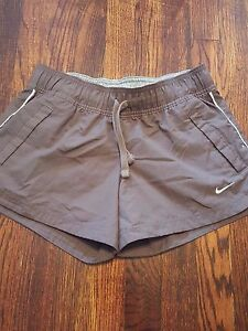 Nike The Athletic Department Women's Running Shorts Brown Unlined Small 4-6