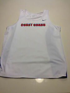 Nike Dri Fit US Coast Guard Running Shirt Mens Medium