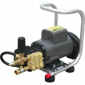 Pressure-Pro Professional 1500 PSI (Electric-Cold Water) Hand Carry Aluminum ...