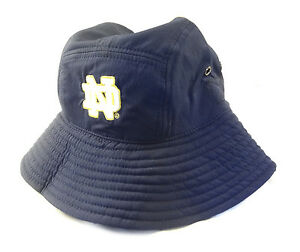 NEW Under Armour Notre Dame Renegade Warrior Sideline Navy LXL Bucket HatCap