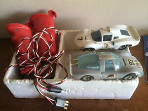 slot cars strombecker used race cars and