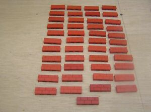 bayko 45 half bricks long red