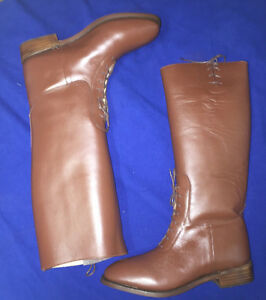 British or American Officer Semi-Dress Riding Boots Size 11 New
