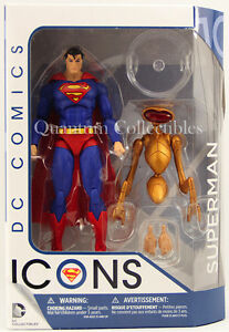 in stock dc icons the man of steel action