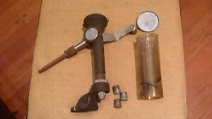 herters #40 powder measure with drop tube funnel set complete with stand reload