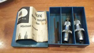 vintage pacific reloading  2 die set 222 remington 10901 used good condition