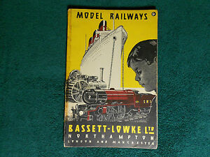 bassett lowke ltd model railways catalog