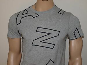 Armani Exchange Authentic Allover Letters T-Shirt  NWT