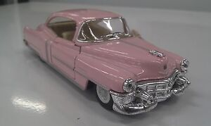 1953 cadillac pink toy model 1 43 scale new