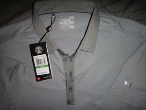 UNDER ARMOUR GOLF POLO SHIRT LOOSE FIT SIZE XXL L MEN NWT $99.99