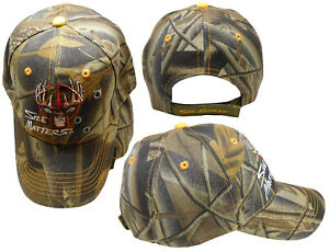 Hunter Hunting Size Matters Buck Deer Camo Bullet Holes Embroidered Cap Hat