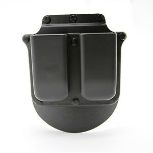 Original 6900 Double Magazine Paddle Holster Pouch For Glock 9mm .40 Cal Mags