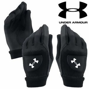 Under Armour 2017 Ladies ColdGear Winter Golf Playing Gloves Pair - 1282891