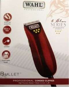 WAHL PROFESSIONAL BULLET HAIR TRIMMER FIVE STAR VERSION OF PEANUT