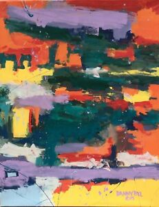 12 LARGE CONTEMPORARY ORIGINAL MODERN ABSTRACT CANVAS PAINTING ART Dan Byl 4x5ft