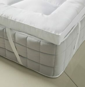 Extra Thick 3 Inch Down Alternative Mattress Topper Cooling Mattress Pad Cover