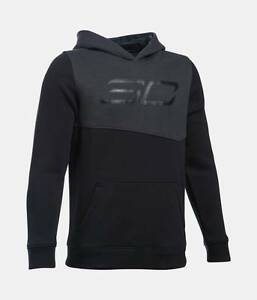 Under Armour Boys UA Stephen Curry SC30 Essentials Hoodie Steph Big Logo