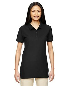 Gildan Women's Premium 100% Cotton Three Buttons Sport Shirt Bulk Sale Tee.G828L