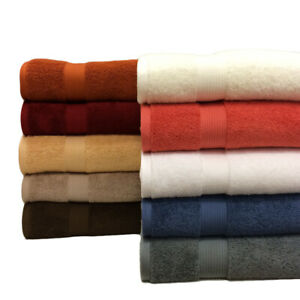 Super Soft Plush Highly Absorbent 2 PC Bath Seets 33 x 63quot; 100% Combed Cotton