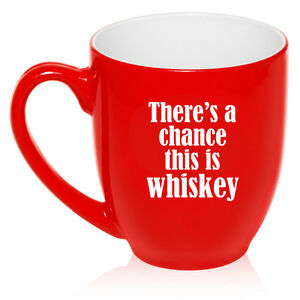 16oz Bistro Mug Ceramic Coffee Glass Tea Cup There's a chance this is whiskey
