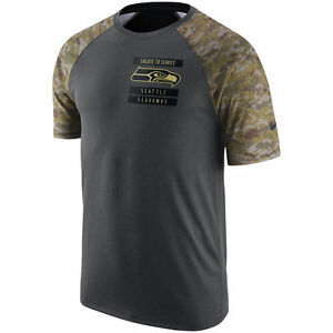 Limited Edition Nike Dri-FIT 2016 NFL Team Logo STS Salute to Service Camo Shirt