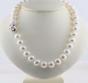 Big White Freshwater Pearl Necklace 17
