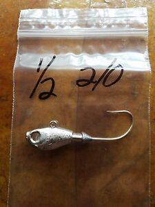 20 3//8oz Poison Tail Jigs Mustad UltraPoint Hooks 3//0 4//0 or 5//0 w or w//o Guard