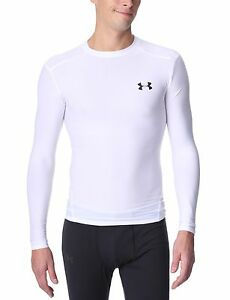 Men's HeatGear® Compression Long Sleeve T-Shirt Tops by Under Armour