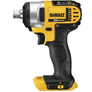 DEWALT 20V MAX Cordless Li Ion 1 2 in. Impact Wrench DCF880B New Tool Only $134.99
