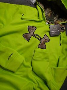 UNDER ARMOUR  STORM1 HUNT REAL TREE CAMO HOODIE SIZE XLT TALL MEN NWT $69.99