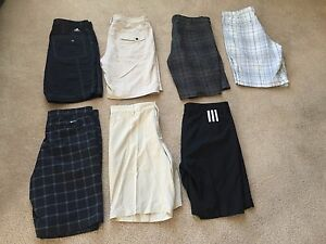 Men's golf shorts - Nike & Adidas