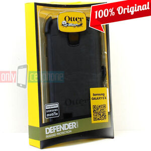 OtterBox Galaxy S4 Defender Case Black w/ Holster New Authentic Original Pack