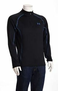 Under Armour Mens ColdGear Infrared Fitted Mock Long Sleeve 14 Zip Training Top
