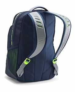 NEW Under Armour Storm Recruit Backpack Imported Midnight NavySteel One Size