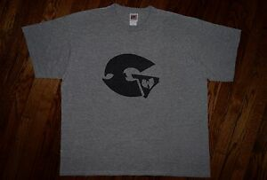 the GENIUS WU-TANG clan vtg 90s RZA hip hop LIQUID SWORDS era nike T-shirt XL