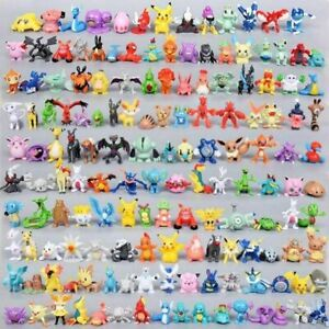 Toy Mini Figures Monster Animation model collection XMAS Gift 2 3cm 144 PIECES $27.99