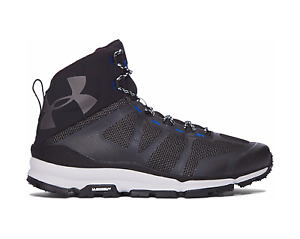 Under Armour Verge Mid Hiking 1299434 Michelin Boots Black All Sizes 8-14