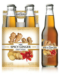 WBC Spicy Ginger Beer Glass Bottles 12 BOTTLES Craft Soda Pop