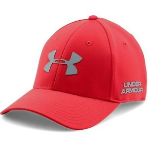 Under Armour Golf Headline Mens Headwear Cap - Red All Sizes