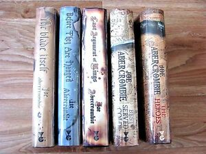 Joe Abercrombie -  5 Vol HC Set all Gollancz 1st1st Signed.