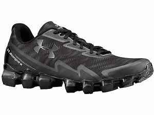 Under Armour Mens Scorpio BlackStealth Grey Synthetic Running Shoes 10.5 M US