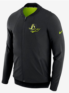 Nike 2017 Oregon Ducks Basketball Showtime Performance Dri-FIT Full Zip Jacket