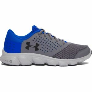Boy's Under Armour Micro G Rave RN GraphiteUltra BlueBlack