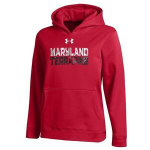 Boy's Under Armour University of Maryland Terps Performance Hoodie