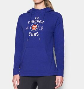 Limited Edition Under Armour MLB Chicago Cubs Women's Hooded Sweatshirt NWT