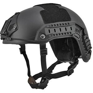 AIRSOFT PAINTBALL FIELD PROTECTIVE HELMET Military Tactical Gear Fast Martime
