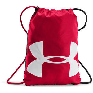 Under Armour Ozsee Sackpack Mens Bag Gym - Red One Size